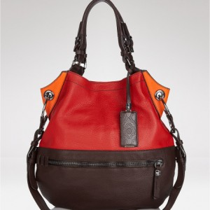 Oryany Red Leather Bag